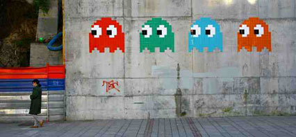 Mosaic by Invader